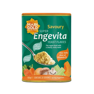 Engevita Nutritional Yeast Flakes with B12 & Vit D 100g