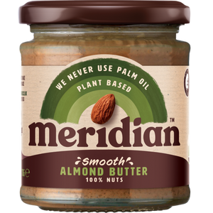 Meridian Smooth Almond Butter 100% 170g