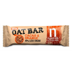 Nairns Gluten Free Cacao & Orange Oat Bars 40g
