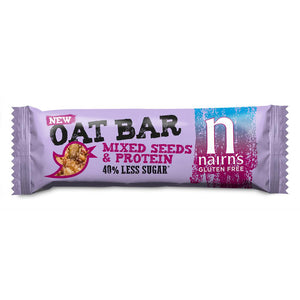 Nairns Gluten Free Seeded Oat Bars 40g