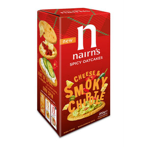 Nairns Cheese & Smoky Chipote Oatcakes 200g