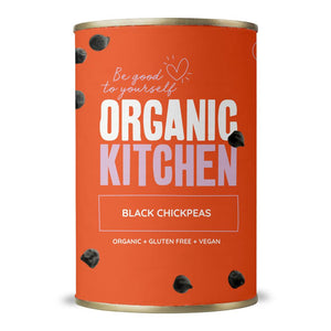 Organic Kitchen Black Chickpeas 400g