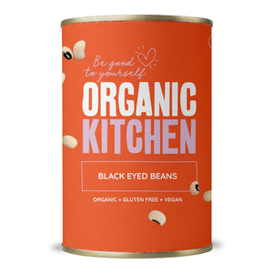 Organic Kitchen Black Eyed Beans 400g