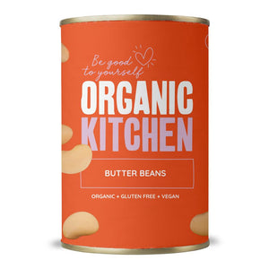Organic Kitchen Butter Beans 400g
