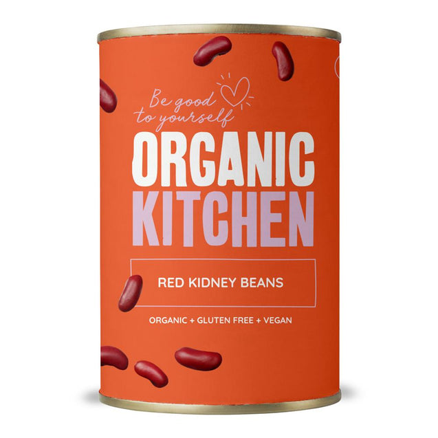 Organic Kitchen Red Kidney Beans 400g