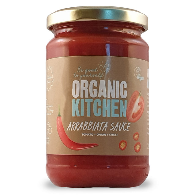 Organic Kitchen Arrabbiata Sauce 280g