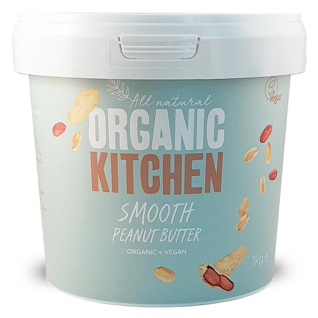 Organic Smooth Peanut Butter 1 Kg