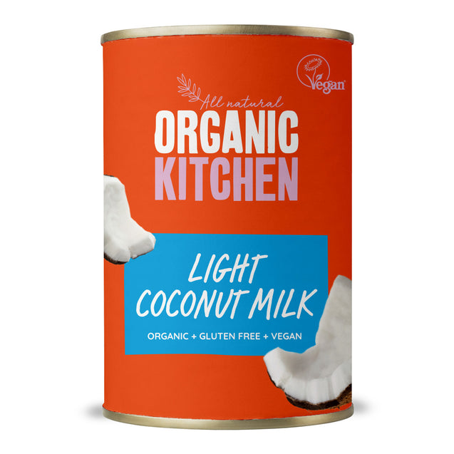 Organic Kitchen Light Coconut Milk 400ml