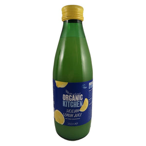 Organic Kitchen ORGANIC SICILIAN LEMON JUICE 250ML