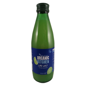 Organic Kitchen ORGANIC LIME JUICE 250ML