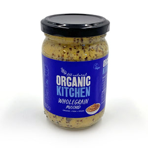 Organic Kitchen Mustard Wholegrain 200g