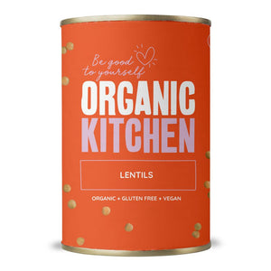 Organic Kitchen Lentils 400 g