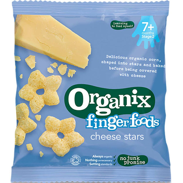 Organix Cheese Stars 20g