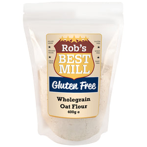 Rob's Best Mill Gluten Free Wholegrain Oat Flour 400g