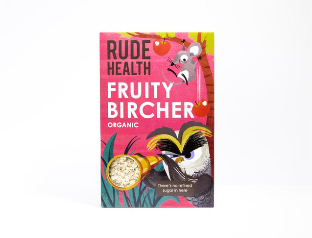 Rude Health Organic Kid's Fruity Bircher 350g