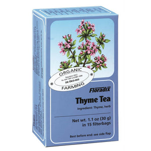 Floradix Thyme Herbal Tea 15 filterbags