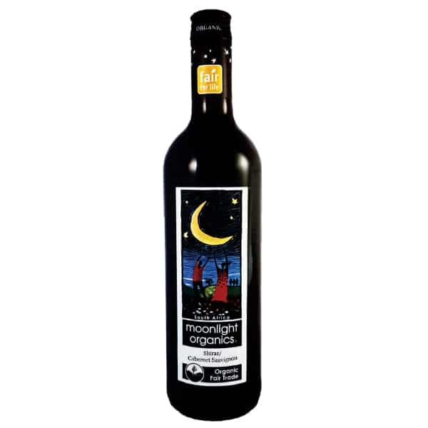 Shiraz Merlot 'Moonlight Organics', South Africa Organic Red Wine