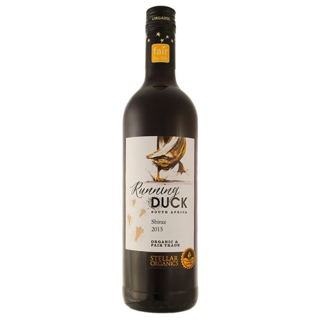 Shiraz 'Running Duck' NO SULPHUR ADDED, South Africa Organic Red Wine