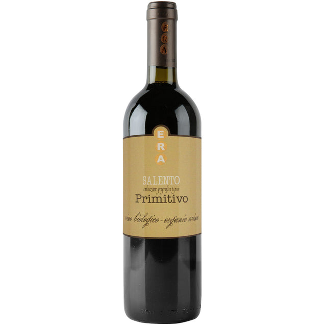 Primitivo 'Era' IGT, Volpi 750ml Organic Red Wine