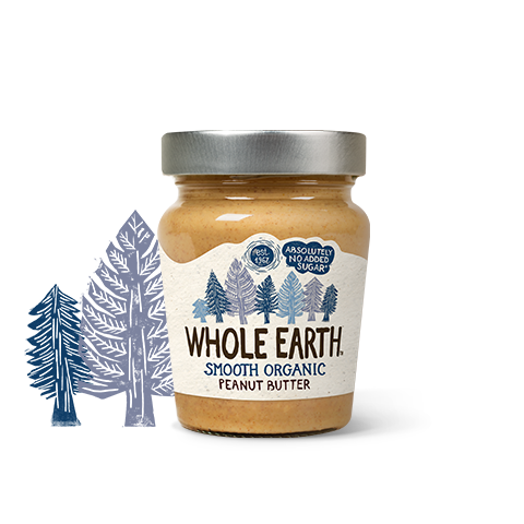 Whole Earth Organic Smooth Peanut Butter 227g