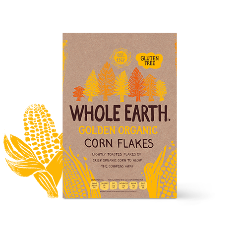 Whole Earth Organic Classic Cornflakes 375g