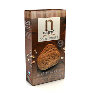 Nairns Gluten Free Chocolate Chip Biscuit Breaks, 160g