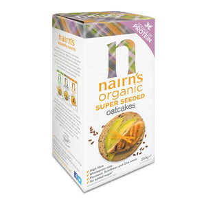 Nairns Super Seeded Organic Oatcakes 200g