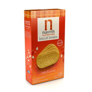 Nairns Gluten Free Oats & Syrup Biscuit Breaks 160g