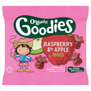Organix Goodies Gummies Raspberry/Apple Moos 12g