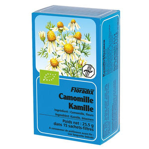 Floradix Camomile Organic Herbal Tea 15 filterbags
