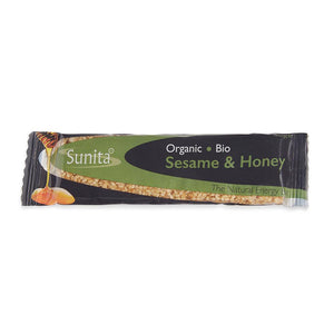 Sunita Foods Organic Sesame Honey Bar