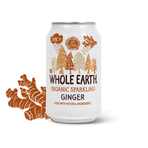 Whole Earth Organic Sparkling Ginger Drink 330ml