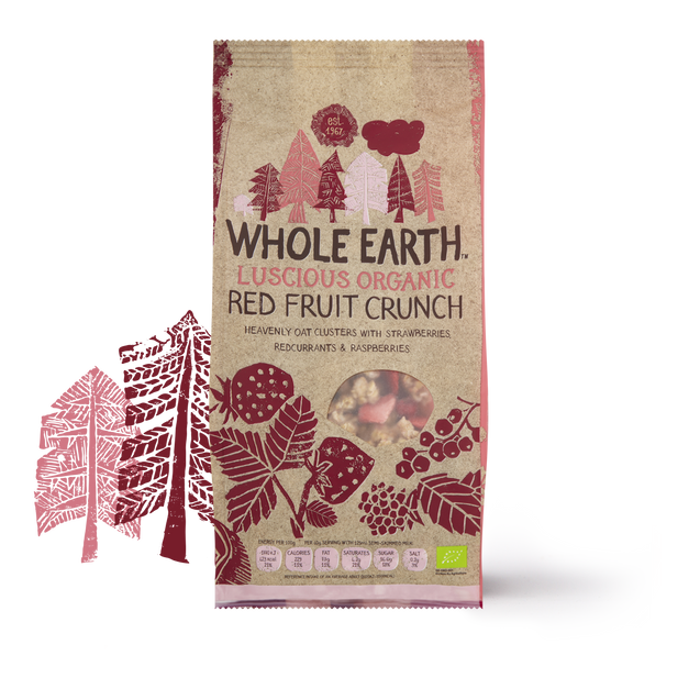 Whole Earth Organic Red Fruit Crunch 450g