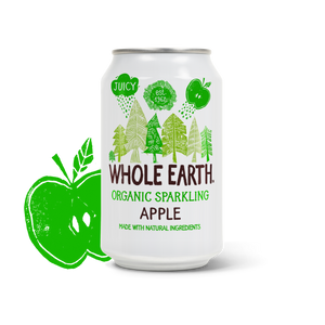 Whole Earth Lightly Sparkling Organic Apple Drink 330ml