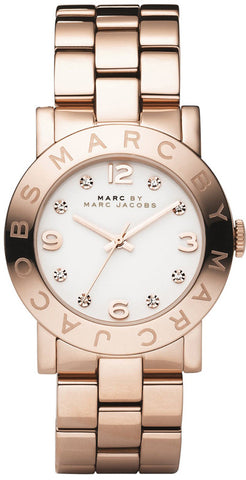 Marc by Marc Jacobs Ladies' Rose Gold Stainless Steel Watch MBM3077 - DE5IGNER LTD  - 1