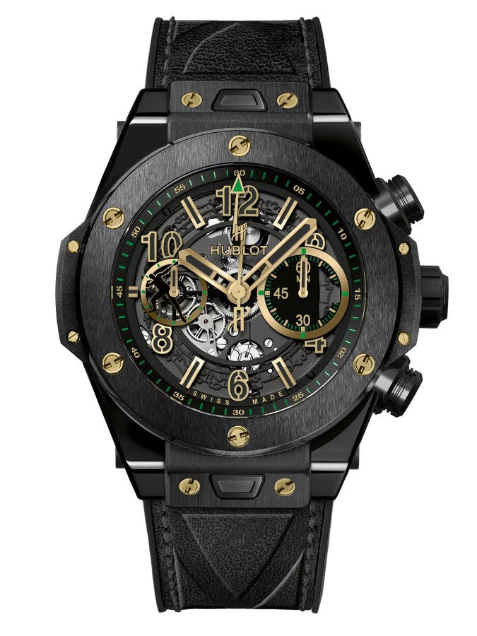 Watch in focus - HUBLOT Big Bang Unico Usain Bolt Limited Edition 411.CX.1189.VR.USB16 Swiss Watch