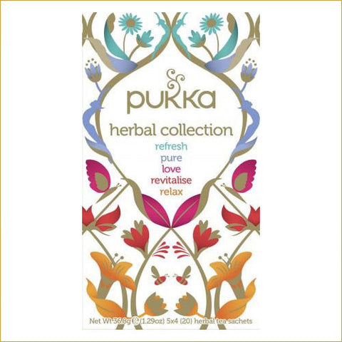 ØKOLOGISK PUKKA HERBAL COLLECTION sampak