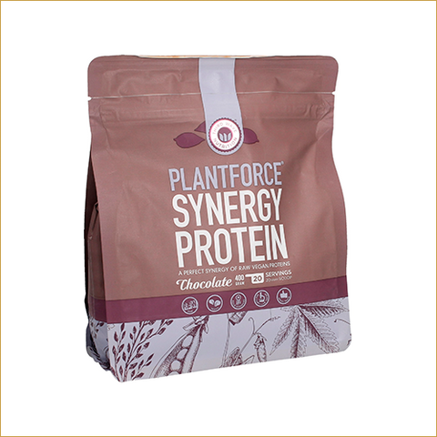 PLANTFORCE SYNERGY PROTEIN – CHOCOLATE 400G