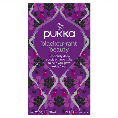 ØKOLOGISK PUKKA TE  - BLACKCURRANT BEAUTY