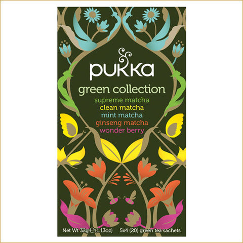 ØKOLOGISK PUKKA TE - GREEN COLLECTION