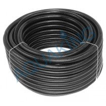 Aquaking Poolhose zwart 25mm rol 25m