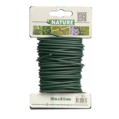 Rubberband 3mm doorsnee rol 10m groen