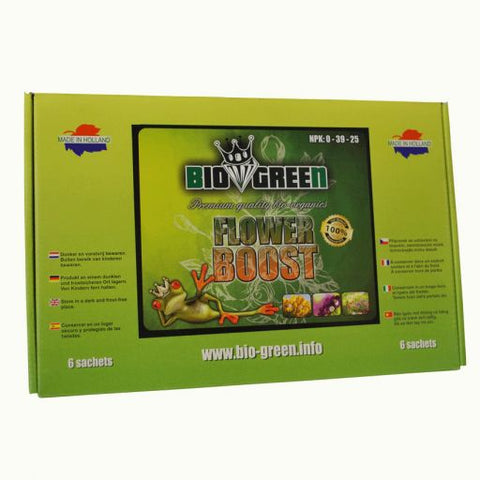 Bio green flower boost per doosje