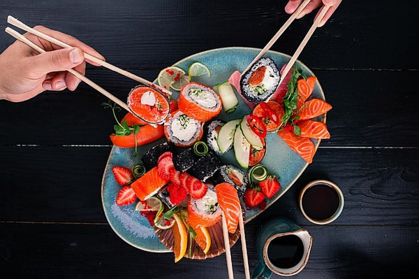 2. A plate of Sushi