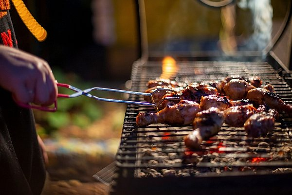5. BBQ cooking