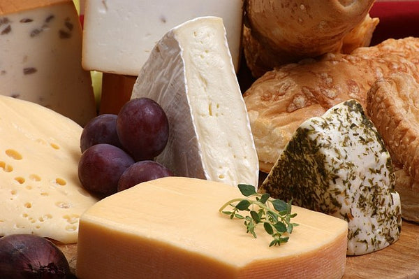 6. A selection of cheeses