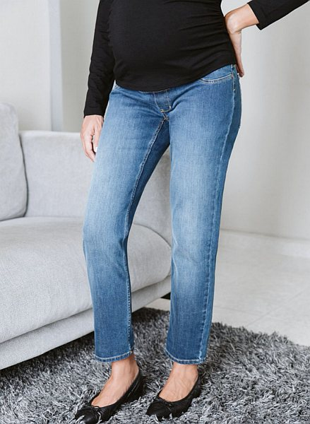 6. over the bump maternity boyfriend jean from isabellaoliver.com