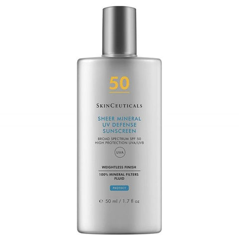7. Skinceuticals Sheer Mineral UV defence SPF50