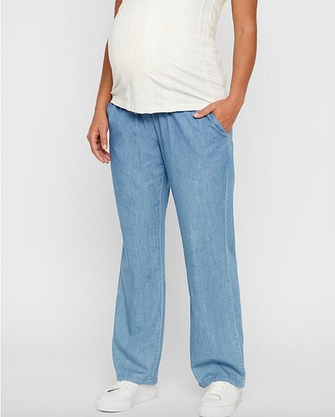 8. Mamalicious loose fit smock maternity trousers