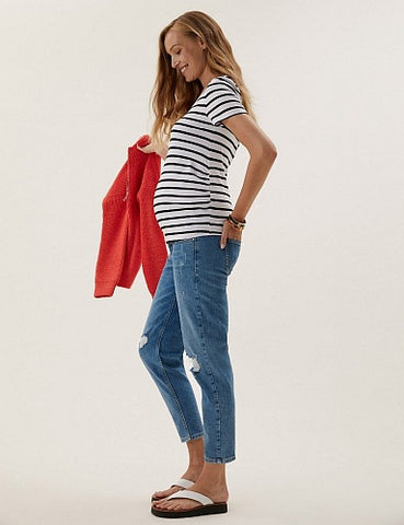 M&S Mom Tapered Jeans